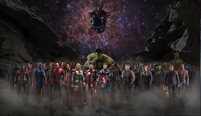 Avengers: Infinity War, l'incredibile nuova immagine promozionale
